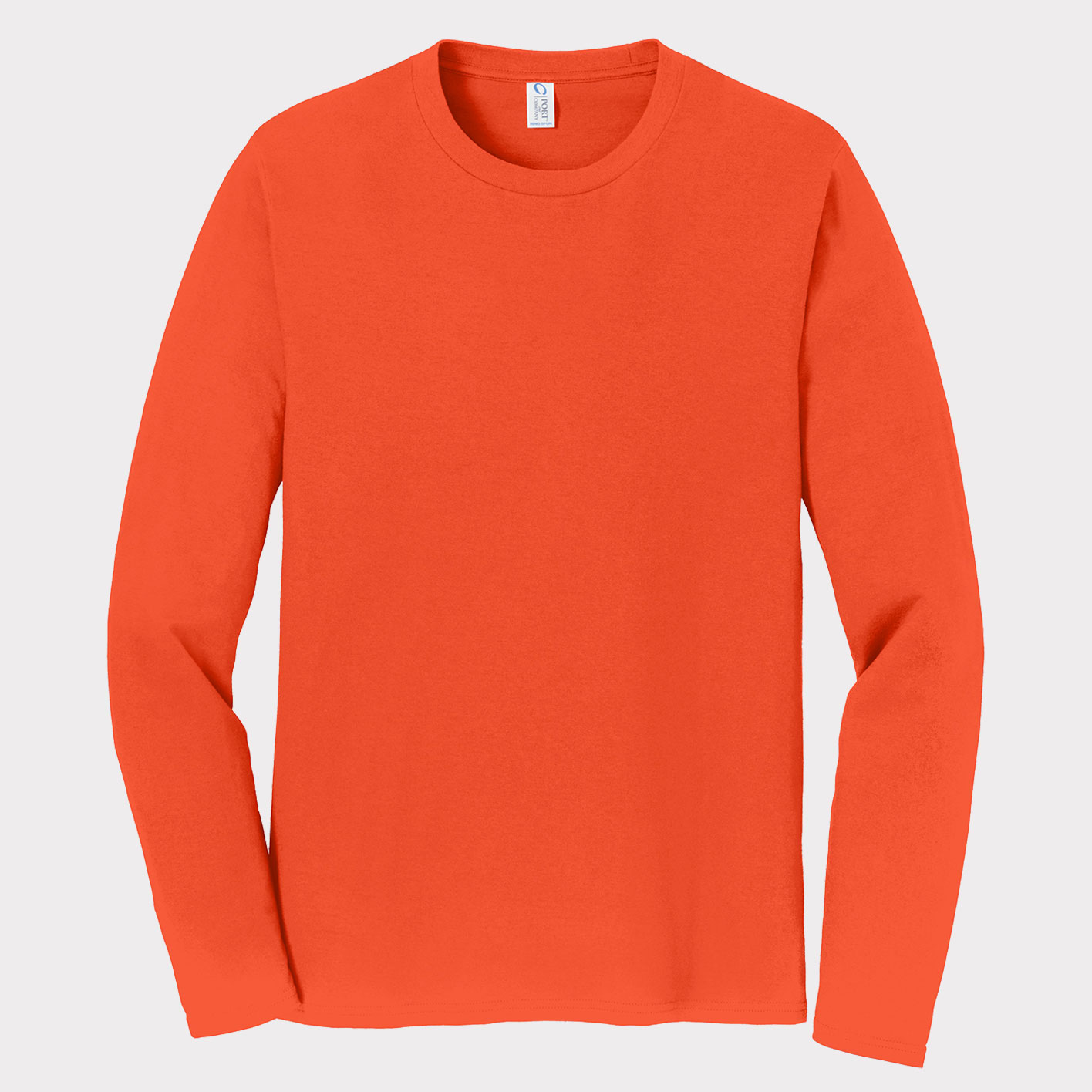 Orange Long-sleeve Front