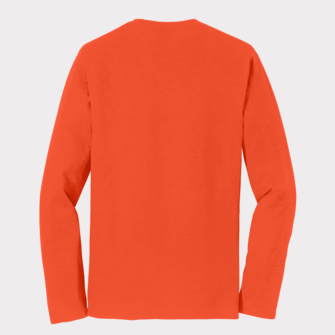 Orange Long-sleeve Back