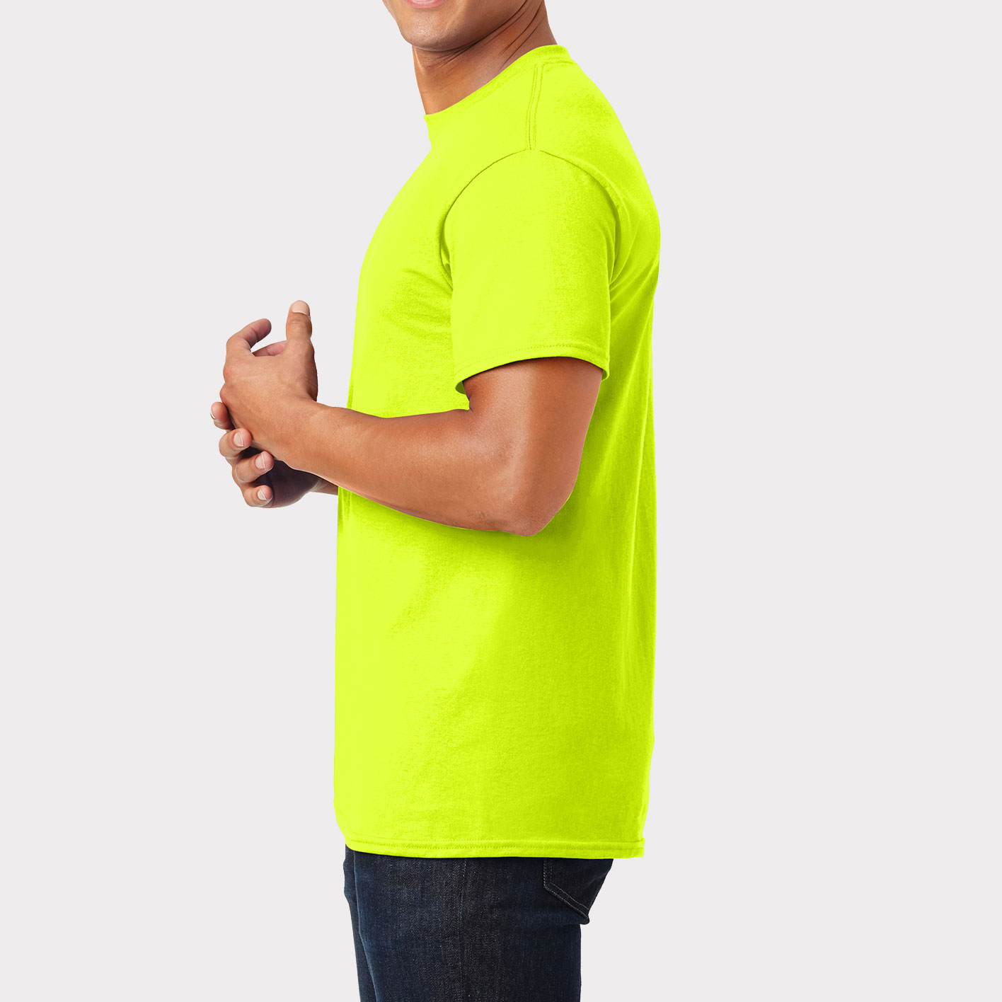 Safety T-Shirt Sideview