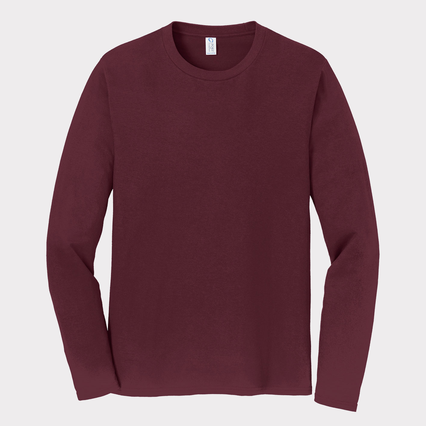 Maroon Long-sleeve Front