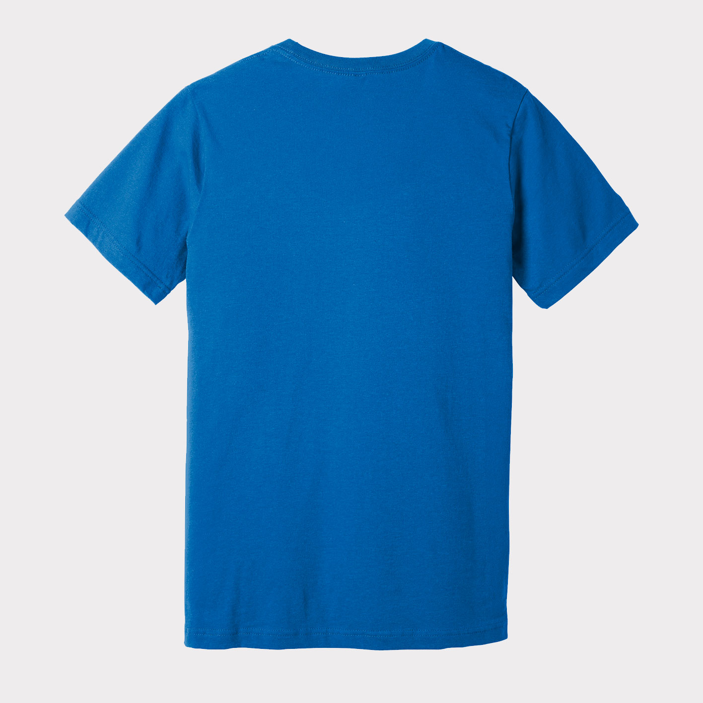 Blue T-Shirt Back