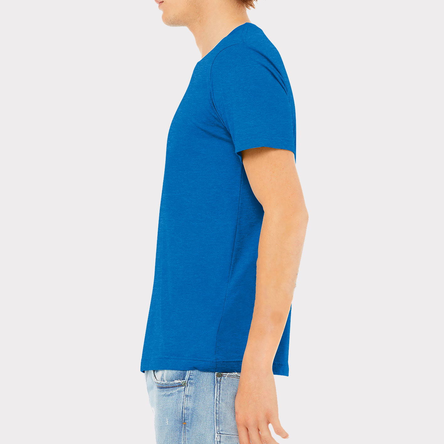 Blue T-Shirt Sideview
